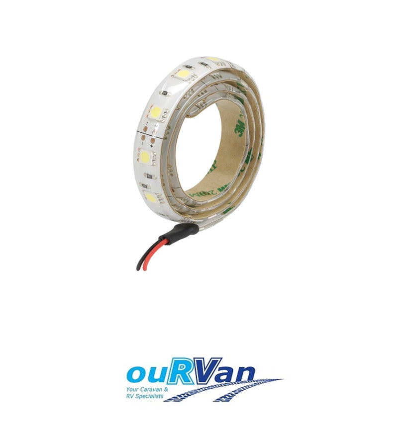 NARVA 12V 600mm HIGH OUTPUT COOL WHITE LED TAPE (BLISTER PACK OF 1) 87806BL
