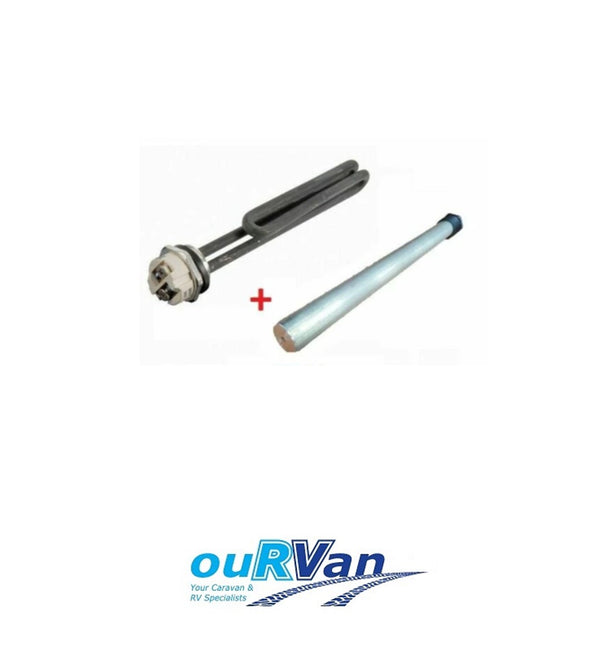 SUBURBAN 240V HOT WATER SERVICE ELEMENT 1440W + ANODE PACK CARAVAN RV 950-02691