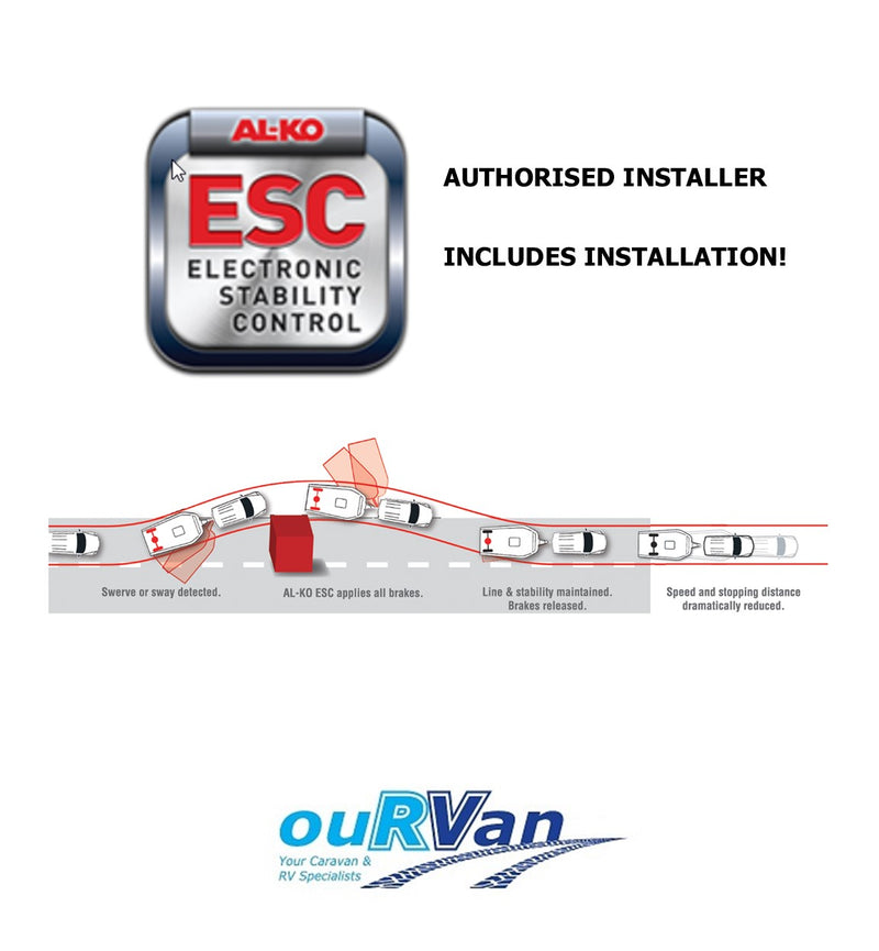 Al-ko ESC (Electronic Stability Control) INCLUDES INSTALLATION