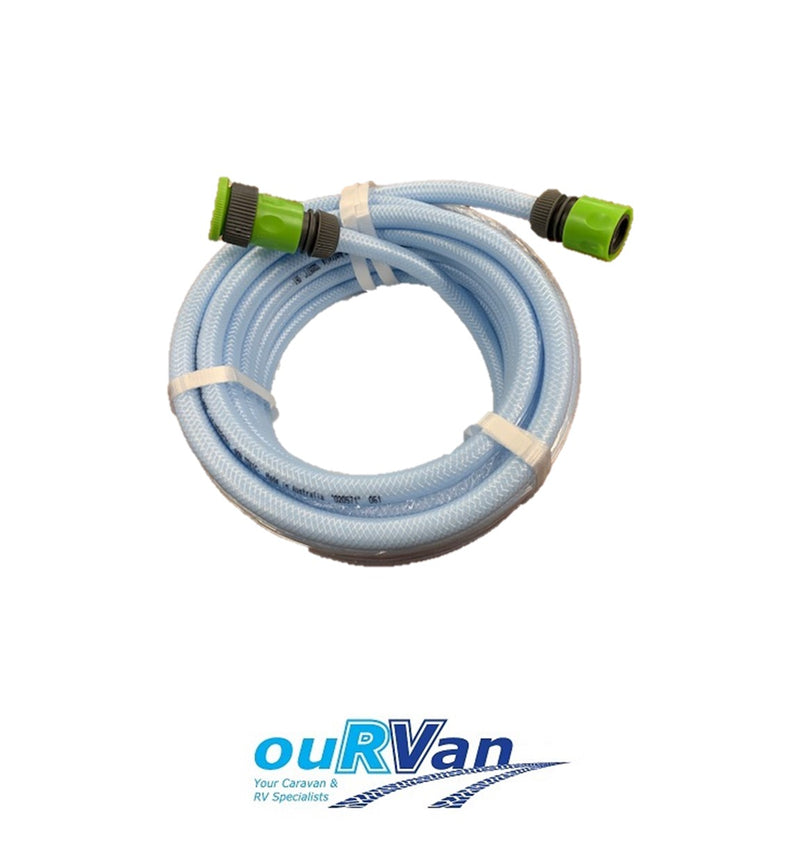 DRINKING WATER HOSE WITH FITTINGS 10M X 12MM PH-DW012010F