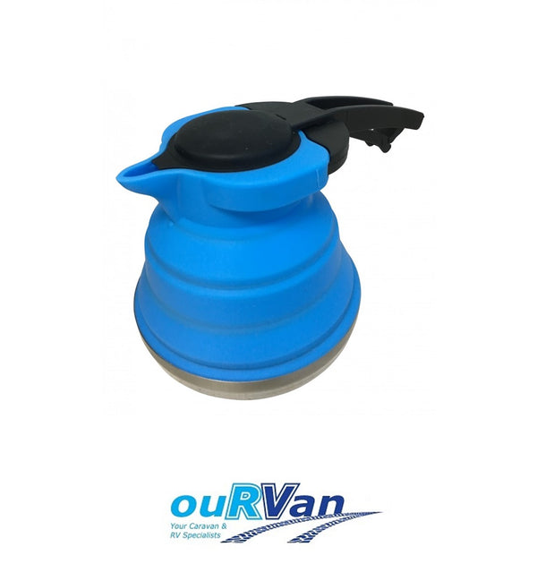 COLLAPSIBLE BLUE KETTLE 1.2L CLP19