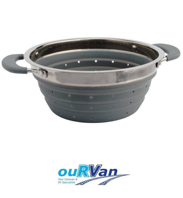 COLLAPSIBLE GREY COLANDER CLP30