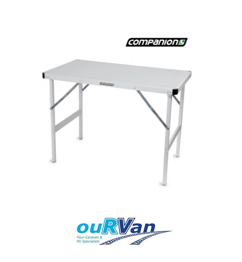 COMPANION QUICK FOLD UP 4 PERSON ALLOY TABLE PORTABLE CARAVAN CAMPING COMP7301