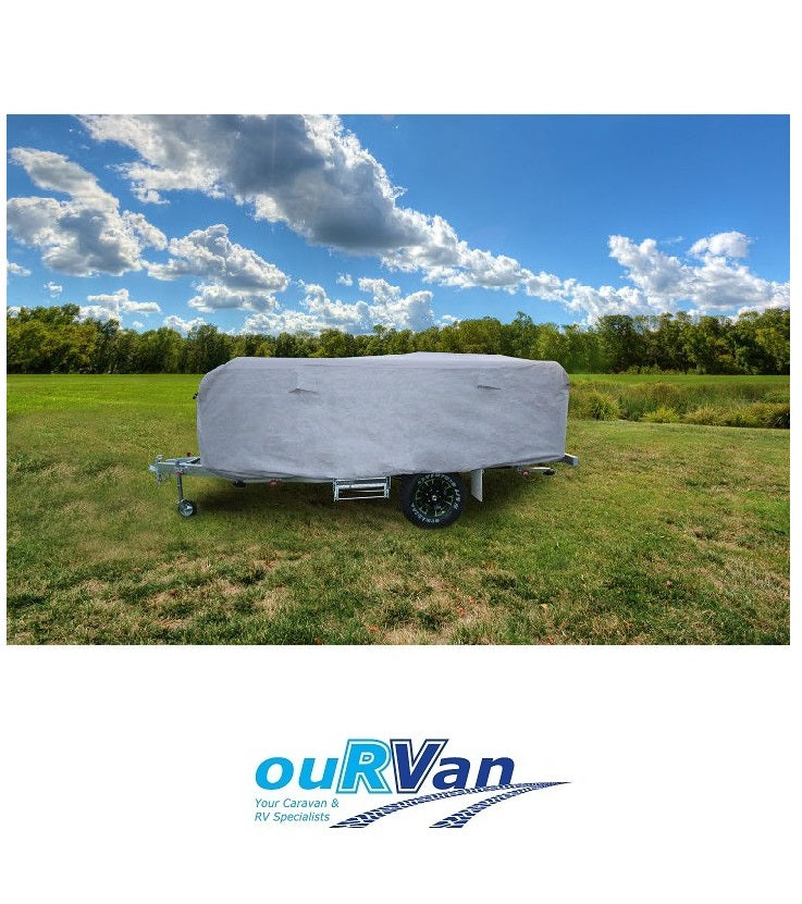 CAMEC CAMPER TRAILER COVER C16CTCV FITS CAMPER TRAILERS 14-16 FT 4.3-4.8M