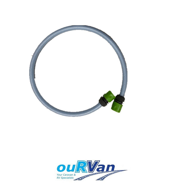 1M CONNECTION HOSE TO SUIT PURETEC / B.E.S.T INLINE FILTERS & WATER TANK QUICK FILL