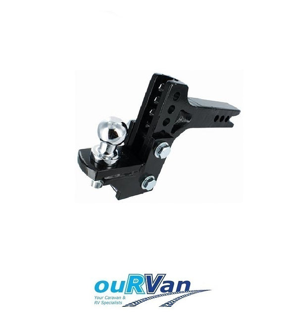 HAYMAN REESE ADJUSTABLE TOW BALL MOUNT KIT 3500KG - 70207