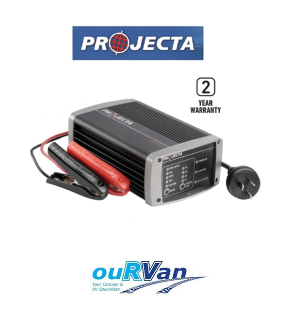 PROJECTA IC700 12V BATTERY CHARGER POWER SUPPLY 7AMP 7 STAGE MULTI CHEMISTRY