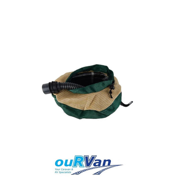 LARGE CARAVAN HOSE BAG SUPEX SUIT 20M FRESH OR 10M WASTE SULLAGE HOSE