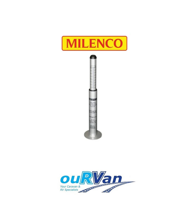 MILENCO TOW BALL NOSE WEIGHT SCALES GAUGE 400KG CARAVAN TRAILER CAMPER M-3155