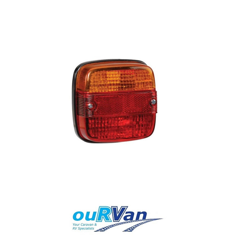 TAILLIGHT WITH NUMBER PLATE LIGHT 86030BL
