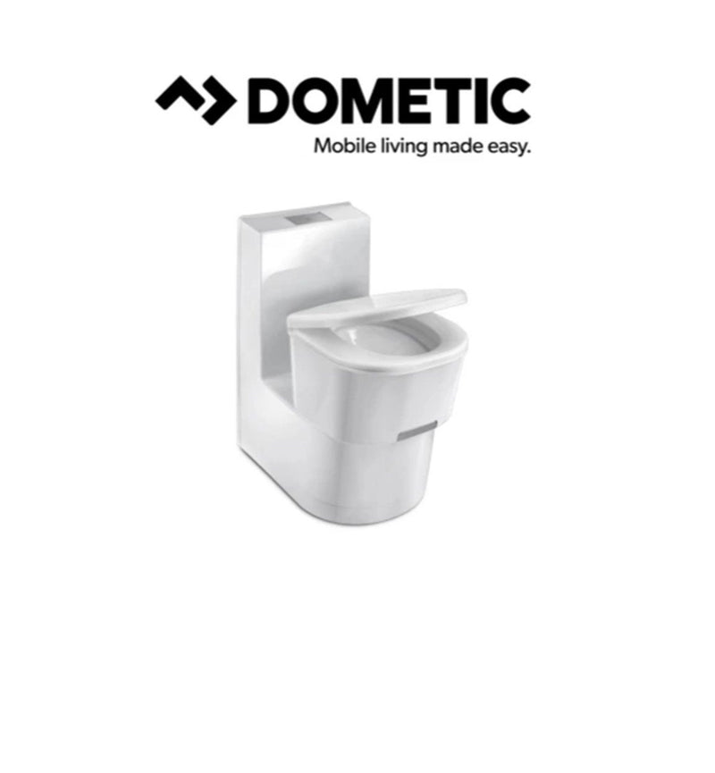 DOMETIC 9107100658 SANEO CS CASSETTE TOILET CERAMIC SWIVEL CARAVAN MOTORHOME RV