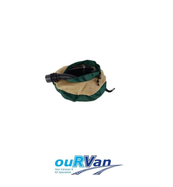SMALL HOSE BAG - SMALL CARAVAN HOSE BAG SUIT 10M FRESH OR 5M WASTE SULLAGE HOSE.
