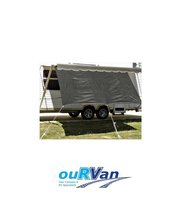 CARAVAN PRIVACY SCREEN RV SUPEX 2800MM X 1800MM