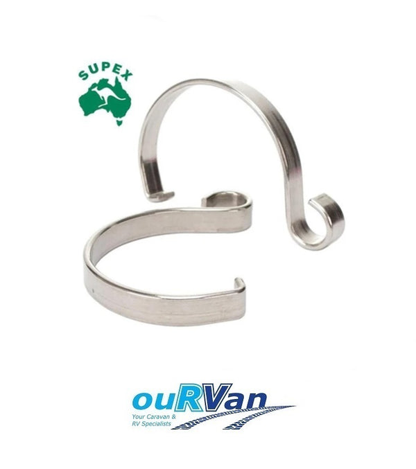 SUPEX ARC CARAVAN ROLLOUT AWNING ROPE CLIPS TIE DOWN