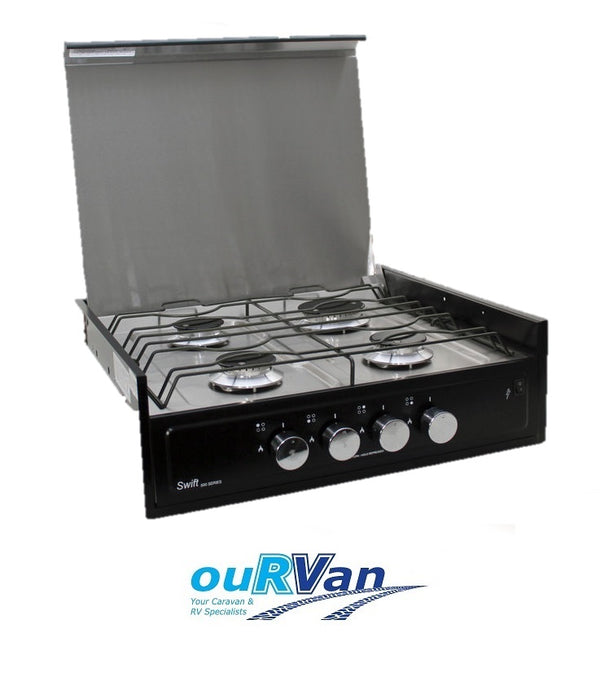 SWIFT 4 BURNER GAS STOVE 503CT COUNTER TOP