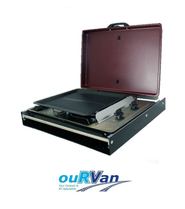 SWIFT 518DS SLIDE OUT BBQ WITH LID