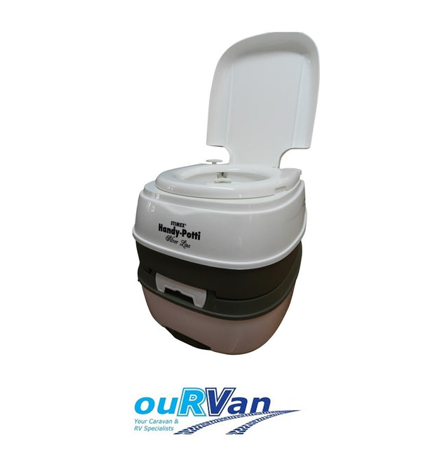 STIMEX HANDY-POTTY PORTABLE CAMP TOILET PT15 SUPEX