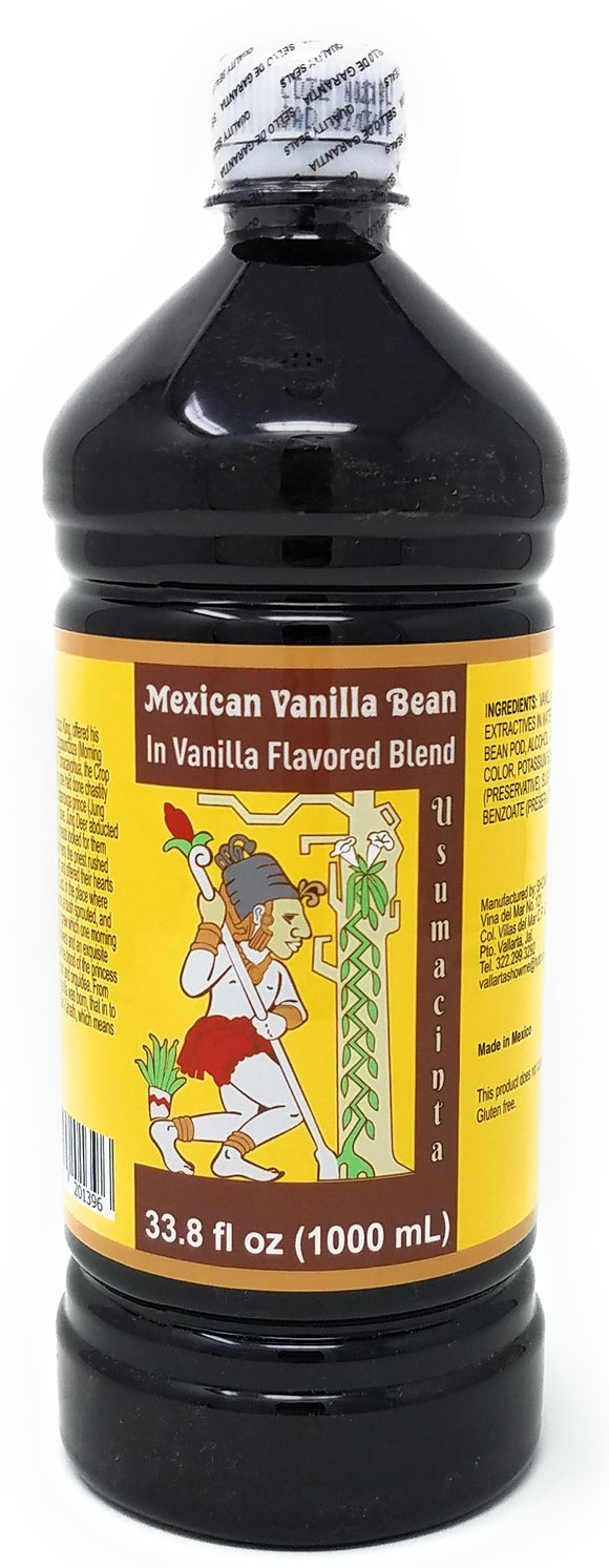 Usumacinta Amber Mexican Vanilla Blend, 33.8 Ounces