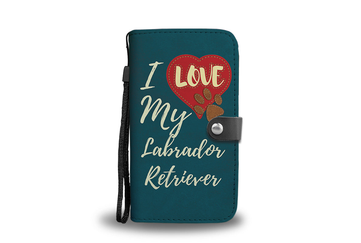 Love Labrador - Wallet Case