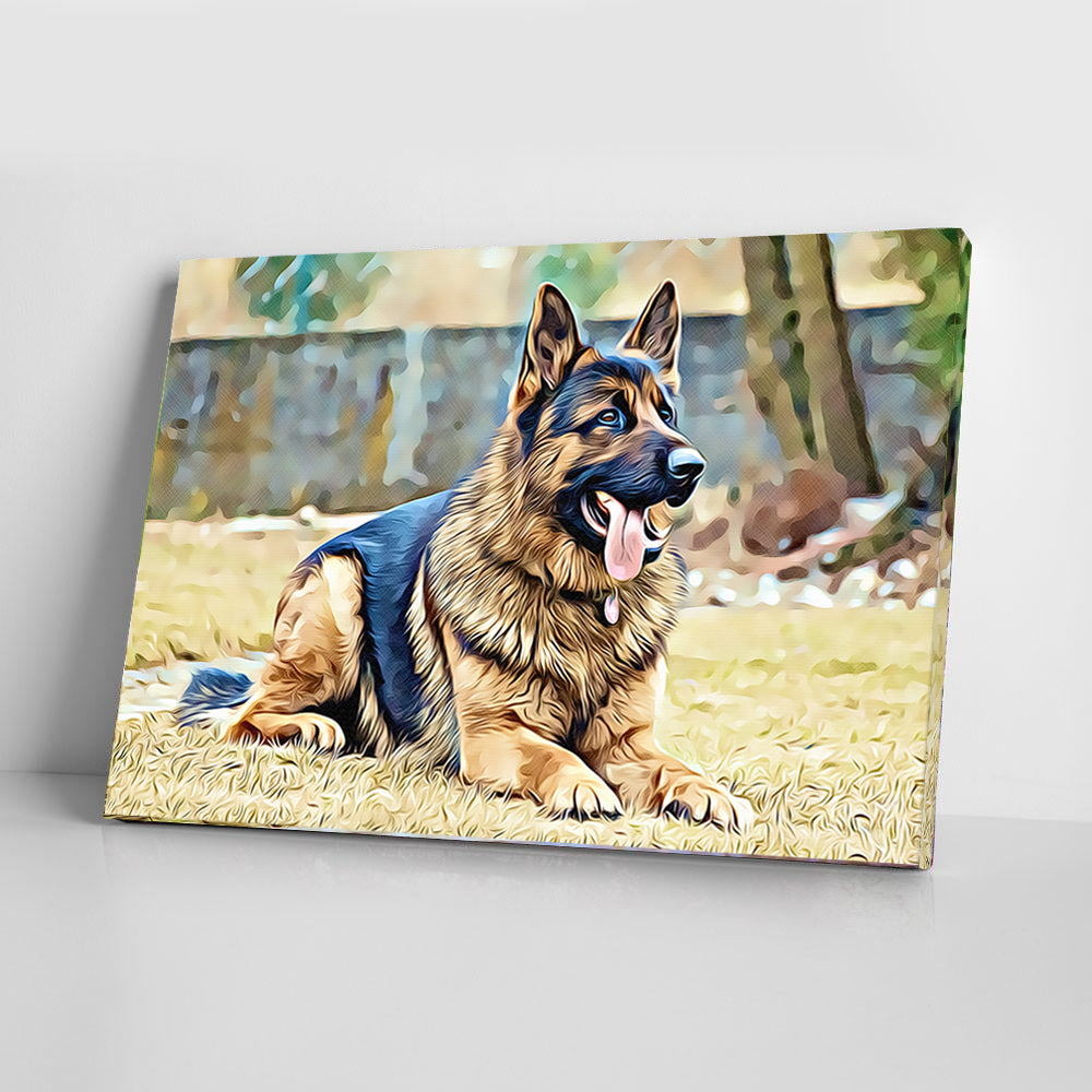 German Shepherd - Dog Paw Lovers