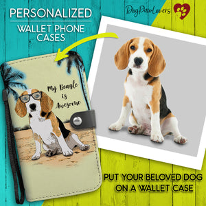 Personalized Wallet Phone Case Cartoon Style Template