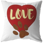 Love Dogs Pillow