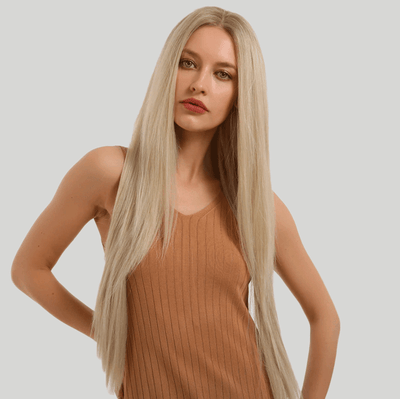 Perruque blond long