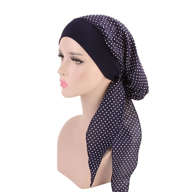 foulard cheveux cancer