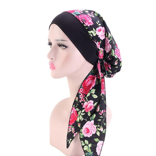 foulard tete cancer