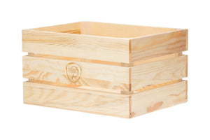 Wooden City Crate