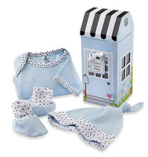 Load image into Gallery viewer, 3-Piece Welcome Home Baby Layette Set in Blue/Pink