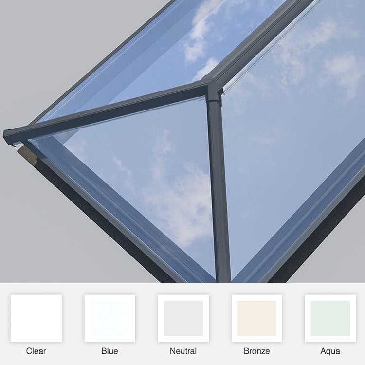 skypod roof lantern glass colours