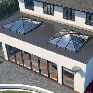 square skypod skylight roof lanterns