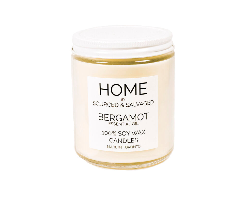 Sourced & Salvaged Soy Candle - Bergamot