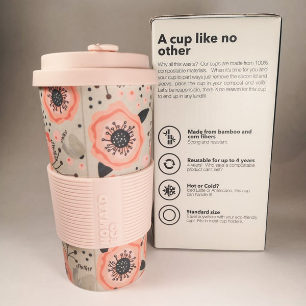NOMAAD ECO Travel Mug - Poppies