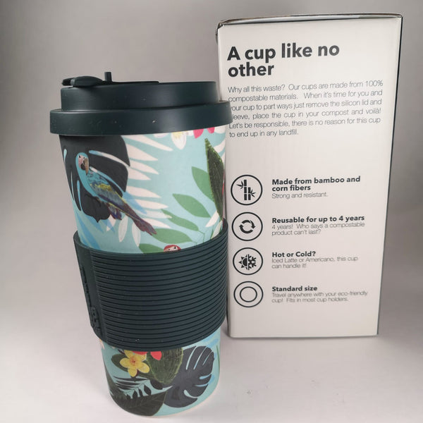 NOMAAD ECO Travel Mug - Birds of Paradise