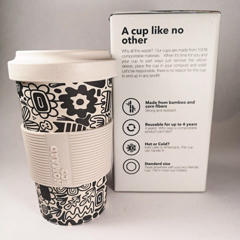 NOMAAD ECO Travel Mug - Graphic Flowers