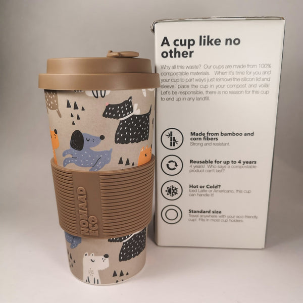 NOMAAD ECO Travel Mug - Dogs