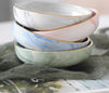 Ceramic Saucer / Ring-Dish in Hand Painted Marble