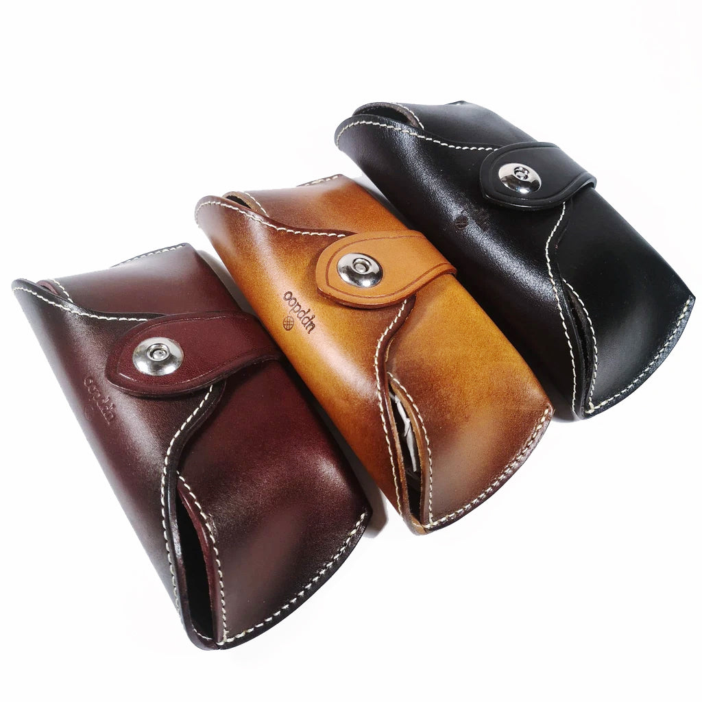 'Tuscany' Italian Leather Sunglasses Case