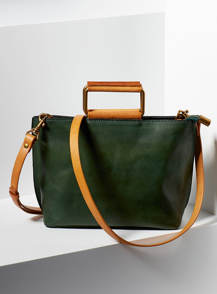 Joy Mini Tote - Hunter Green