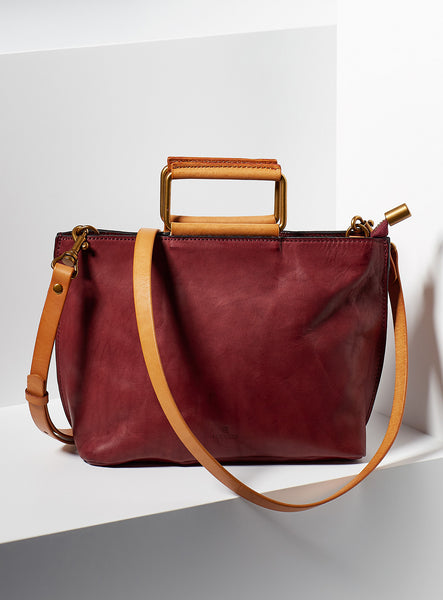 Joy Mini Tote - Bordeaux