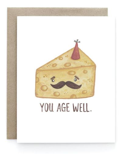 Birthday Cheese Card