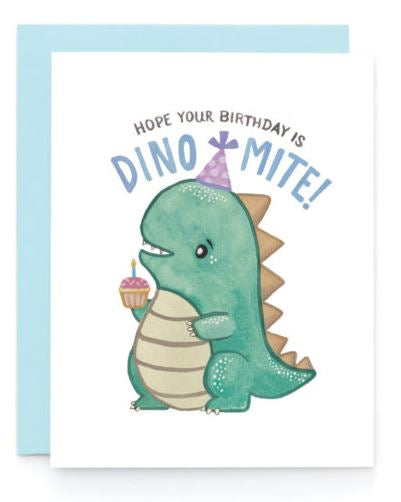 Birthday Dino Card