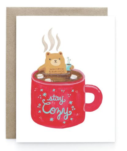 Art+Soul - Bear Mug Card