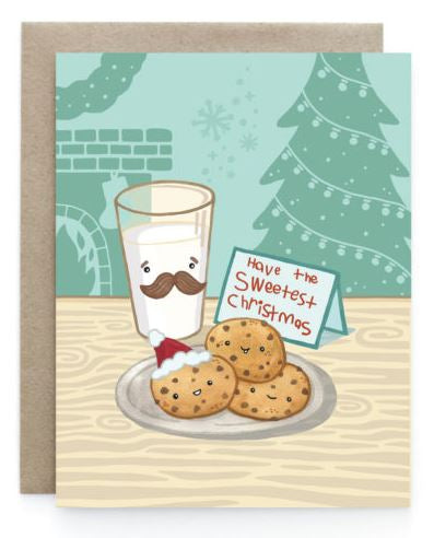 Art+Soul - Milk and Cookies Card