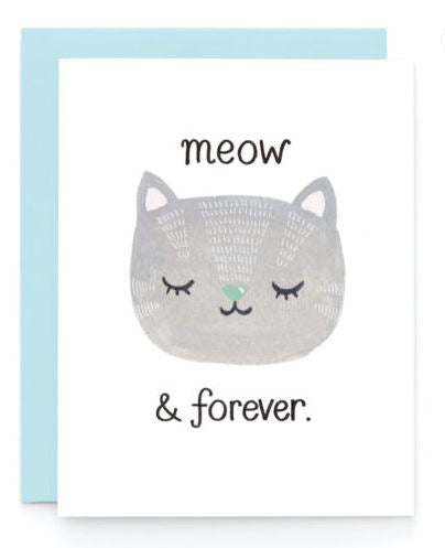 Meow & Forever Card