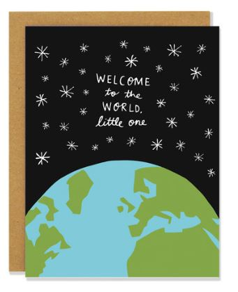 Welcome to the World Baby Card
