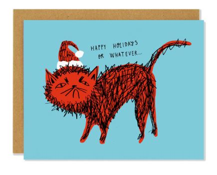 Badger+Burke - Snitty Kitty Holiday Card