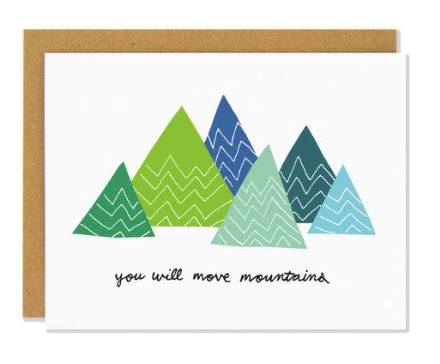 Move Mountains Card